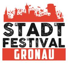 Logo, Stadt Festival, Gronau
