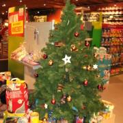 Weihnachtsbaum-Aktion bei Fressnapf Gronau